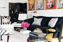 Pop Art Style Interiors
