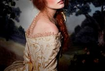 Victorian Make up and hair