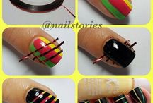 cool nails  / by Machi Lavigne