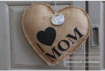 Landelijk en stoer: moederdag Mothersday / Bijzondere Moederdag kado's in landelijke stijl. Handgemaakt en origineel