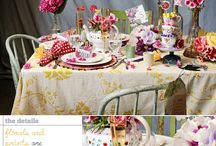 Mad Hatter Tea Party / Mad Hatter Tea Party inspiration board for the NSPP meetup / by Merrilee D. Photography