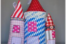 Happy houses  / little sew things made with love  KOCIKOWO