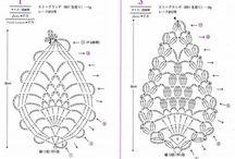 crochet pineapples
