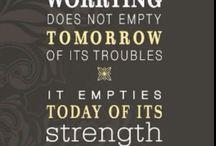 Inspirational (& Humorous) Quotes