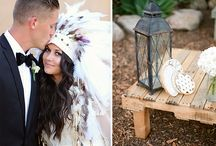 Feather headdresses on weddings / So you refuse to get married in the traditional, old-school way? why don´t you go boho and pick one of our beautiful Indian headdresses to make your wedding unforgettable and totally unique? Our feather headdresses will for sure be super unexpected but simply beautiful