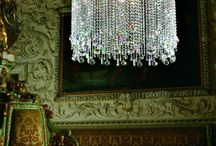 chandeliers / by Peggy Cartwright