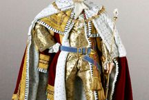 Historical wax figures.