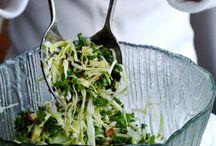 Heathy salads