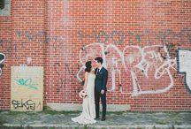 Graffiti Wedding Shoot