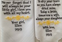 Wedding Hankie's