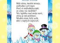 Básničky - zima