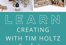 Scrapbooking crafts Tim Holtz