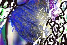 Platinum Tattoo Digital Art by artist Heather Gellately