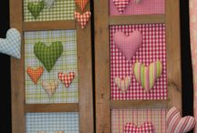 valentine quilts / by Patty Hanssens
