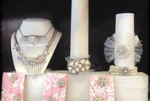Vintage up-cycled Jewelry / Gorgeous doesn't even begin to describe the pieces we sell at HartVille Boutique -  Our Vendors specialize in Bridal Bouquets, Prom Corsages, one of a kind necklaces and Much More - Stop in today!