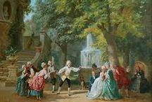 CKV opdracht / 12 afbeeldingen van kunstwerken uit de tijd van Mozart