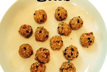 Treat Recipes / Fun and healthy snacks for kids, on the go, for at school and home.