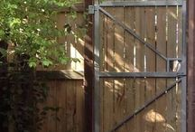 Back fences & gates