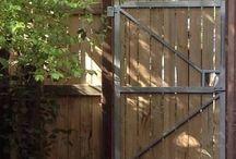 Back fences & gates