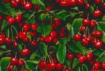 Сочетание зелени и красного