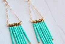 Awesome Earrings / Beautiful earrings - handmade earrings, beaded earrings, drop and cluster earrings, dangle earrings and more.