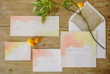 Watercolor Wedding Ideas! / Watercolor weddings are a developing trend that we are following! We love pastels and the softness of watercolor. / by Jessika Feltz | Jupiter and Juno