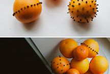 Bowl of clove oranges