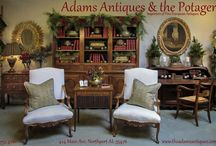 Adams Antiques & the Potager shop pictures and ads