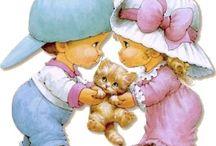детки - рисунки Ruth Morehead