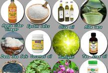 Natural remedies.