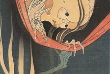 "Japanese demons ""yurei"""