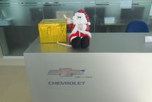 Christmas @ the Chevrolet Cambodia showroom!