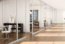 Offices with glass partitions! / Incepand cu anul 2013,  forFITOUT este dealer in Romania a sistemului de partitii ABCD Franta. Partitiile ABCD permit o delimitare eficienta a spatiului si in acelasi timp pastreaza si lumina naturala in interior atat de necesara in orice loc, asigurand eleganta si intimitatea. http://forfitout.ro/en/partitions-solutions/glass-partitions/
