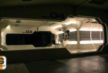 Futuristic lair