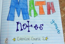 Middle School Math / by Katie {Cookbook Meals}