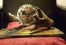 tijd voor een klok, time for a clock ? / simpel uurwerk, diverse uitvoeringen..