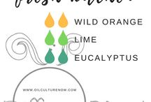 Essential Oils / Oils to use around the home