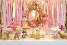 Ella Ballerina's 7th Birthday Party / Kid's Ballerina Inspired Dessert Table by  Oh Feri - Party and Event Styling www.facebook.com/ohferieventstylist