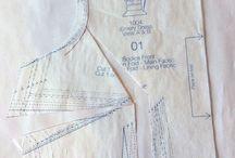 Dress. patterns adjustments
