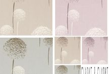 "Clarke & Clarke Astrid Curtain Fabric / A charming floral collection,with a modern twist .....subtle shades of heather,natural and sky...a fabulous collection which is suitable for all soft furnishing  projects. The fabric can be used for all soft furnishings...curtaining, blinds,cushions, loose covers , etc. It would not be suitable for heavy upholstery use. Fabric Width = 54"" (137 cm) The pattern Repeat = Vertical = 25.2"" (64cm)                               Horizontal =  53.9"" (137 cm)"