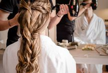 #wedding in #Castiglioncello sul Trinoro #Tuscany / #hairstyle for #wedding in #Tuscany with www.dariopichiniwedding.com photographer