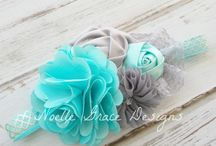 Noelle Grace Designs | Hair Pretties / baby girl and little girl hair accessories, headbands, hair bows, clips, photography props / by Noelle Grace Designs
