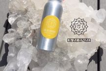 h e a l i n g / A line of eight sprays made out of love and positive intentions to rebalance your chakras and connect to your inner-self.