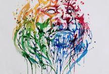 colour drip