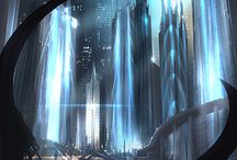Sci-fi * LandScape * Assasin * Fantasy *