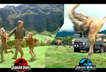 jurassic movies (park, world ect.)