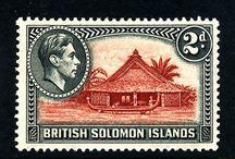 British Solomon Islands Stamps