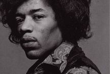Jimi Hendrix / by Twila Walker
