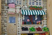 fachadas tiendas y casas