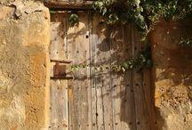 Ancient doors